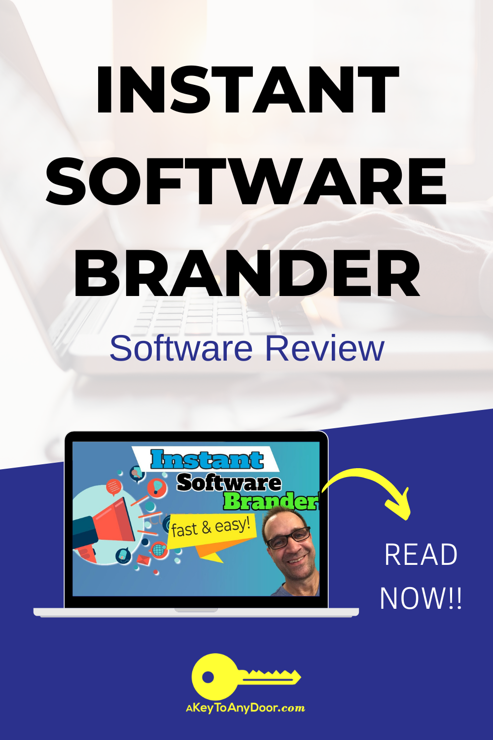 instant software brander pin
